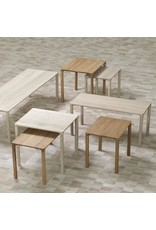 FREDERICIA PILOTI LARGE SIDE TABLE 2-PC SET