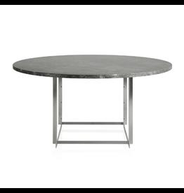 FRITZ HANSEN PK54 灰棕色 (已磨) 大理石面餐桌