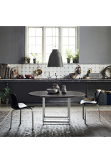 PK54 DINING TABLE IN GREY-BROWN (HONED) MARBLE TABLE TOP
