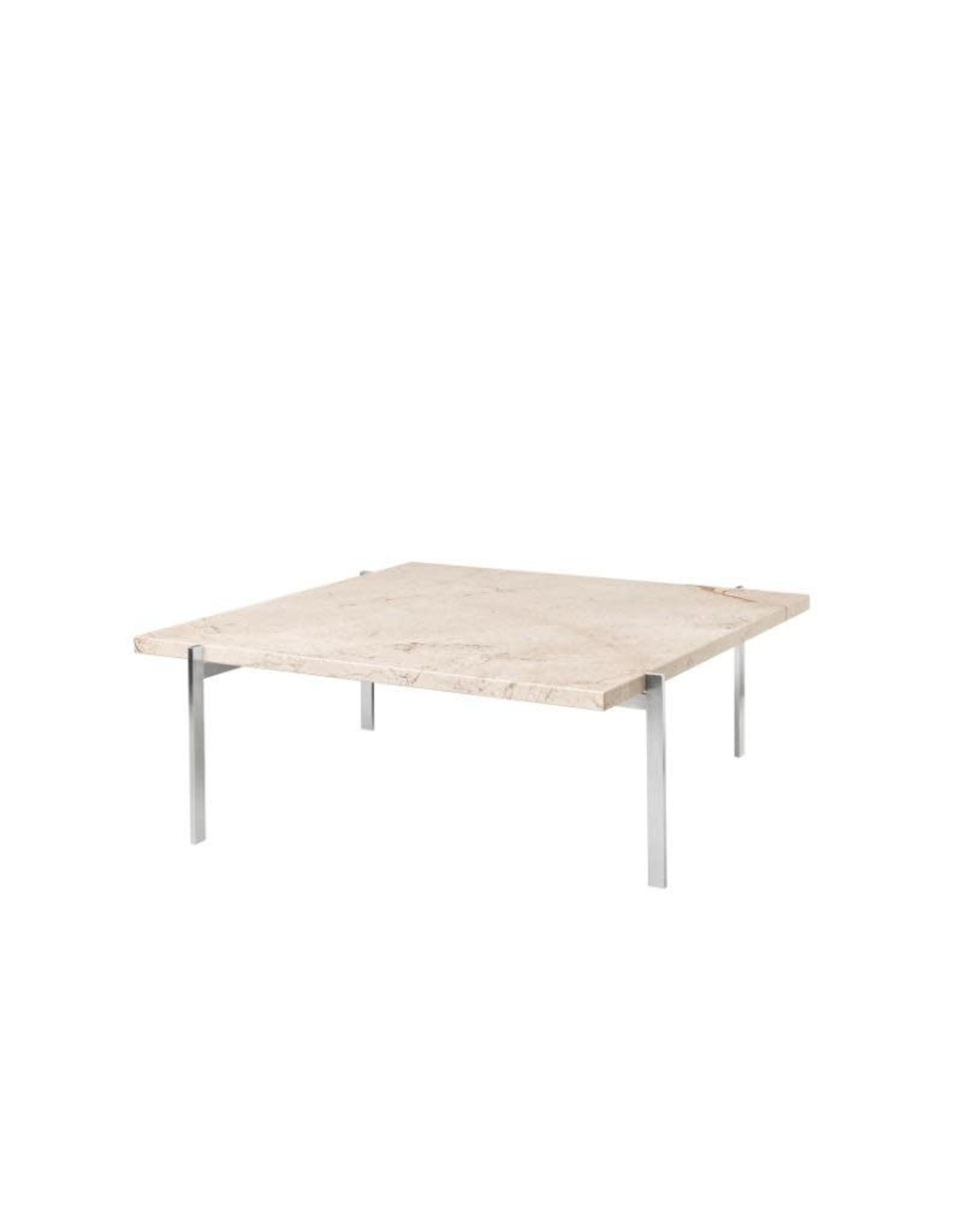 FRITZ HANSEN PK61 COFFEE TABLE IN MARBLE TOP