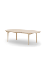 CARL HANSEN & SON CH338 實心橡木橢圓可延伸餐桌