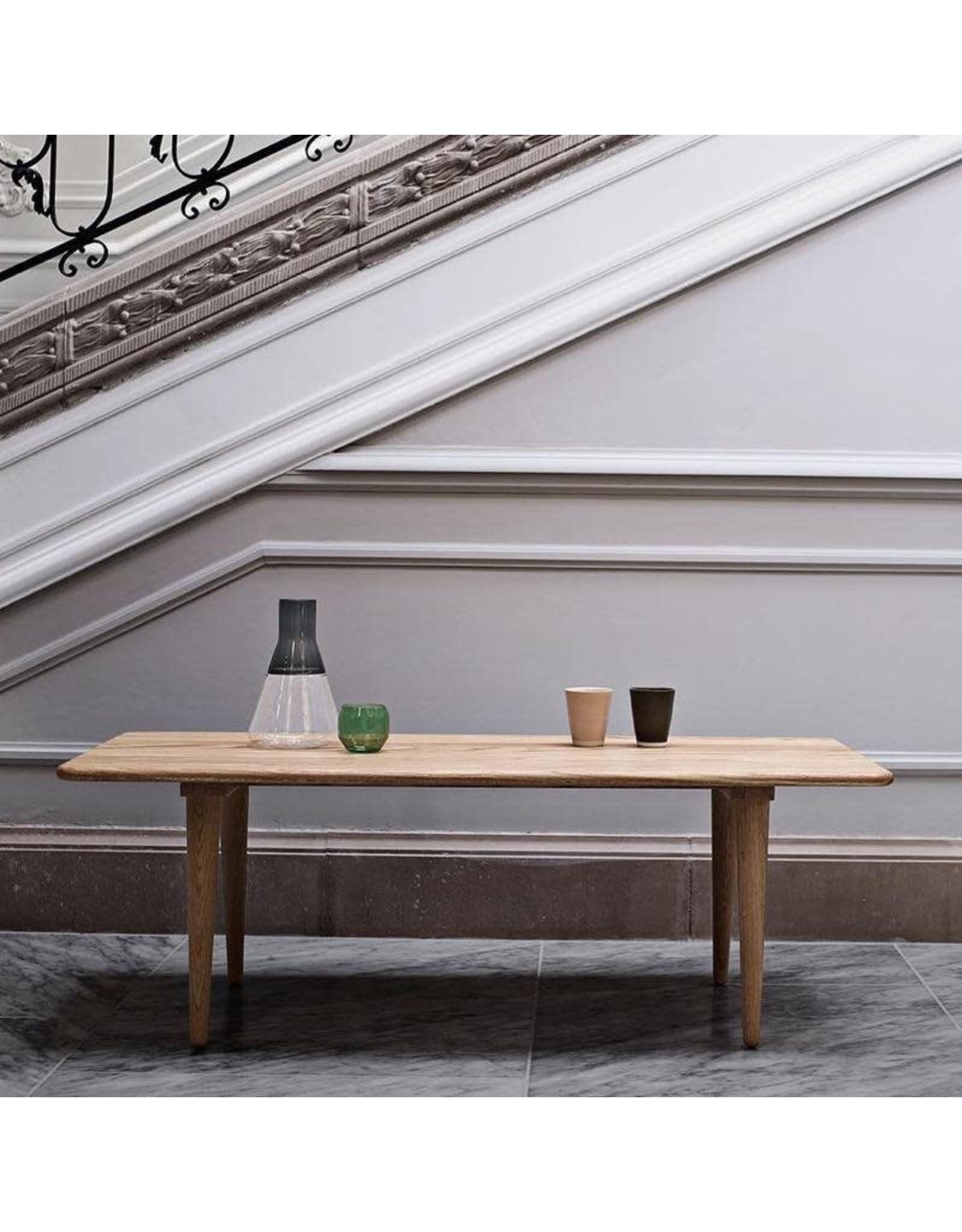 CARL HANSEN & SON CH011 COFFEE TABLE IN SOLID OAK