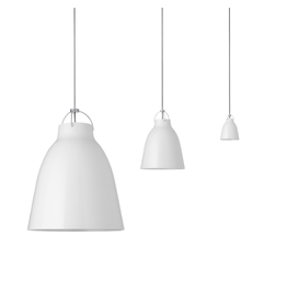 LIGHTYEARS CARAVAGGIO STEEL PENDANT LIGHT IN WHITE HIGH GLOSS LACQUER