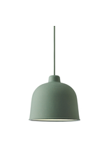 MUUTO GRAIN PENDANT LAMP IN DUSTY GREEN COLOUR