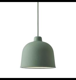 GRAIN PENDANT LAMP IN DUSTY GREEN COLOUR