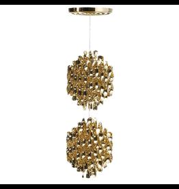 VERPAN SP2金色螺旋形吊灯