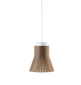 SECTO DESIGN 4600 PETITE PENDANT LAMP IN WALNUT VENEER