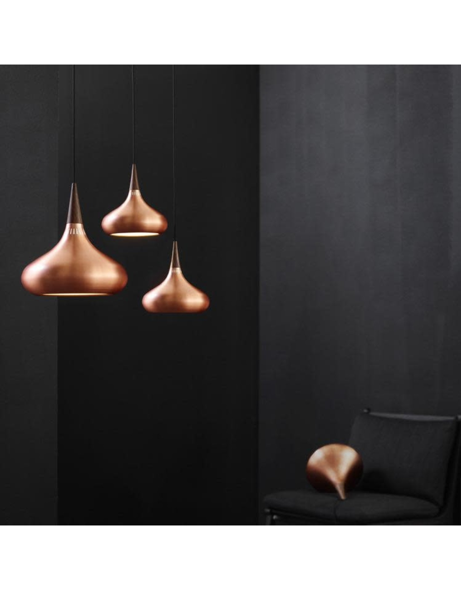 ORIENT PENDANT IN POLISHED COPPER