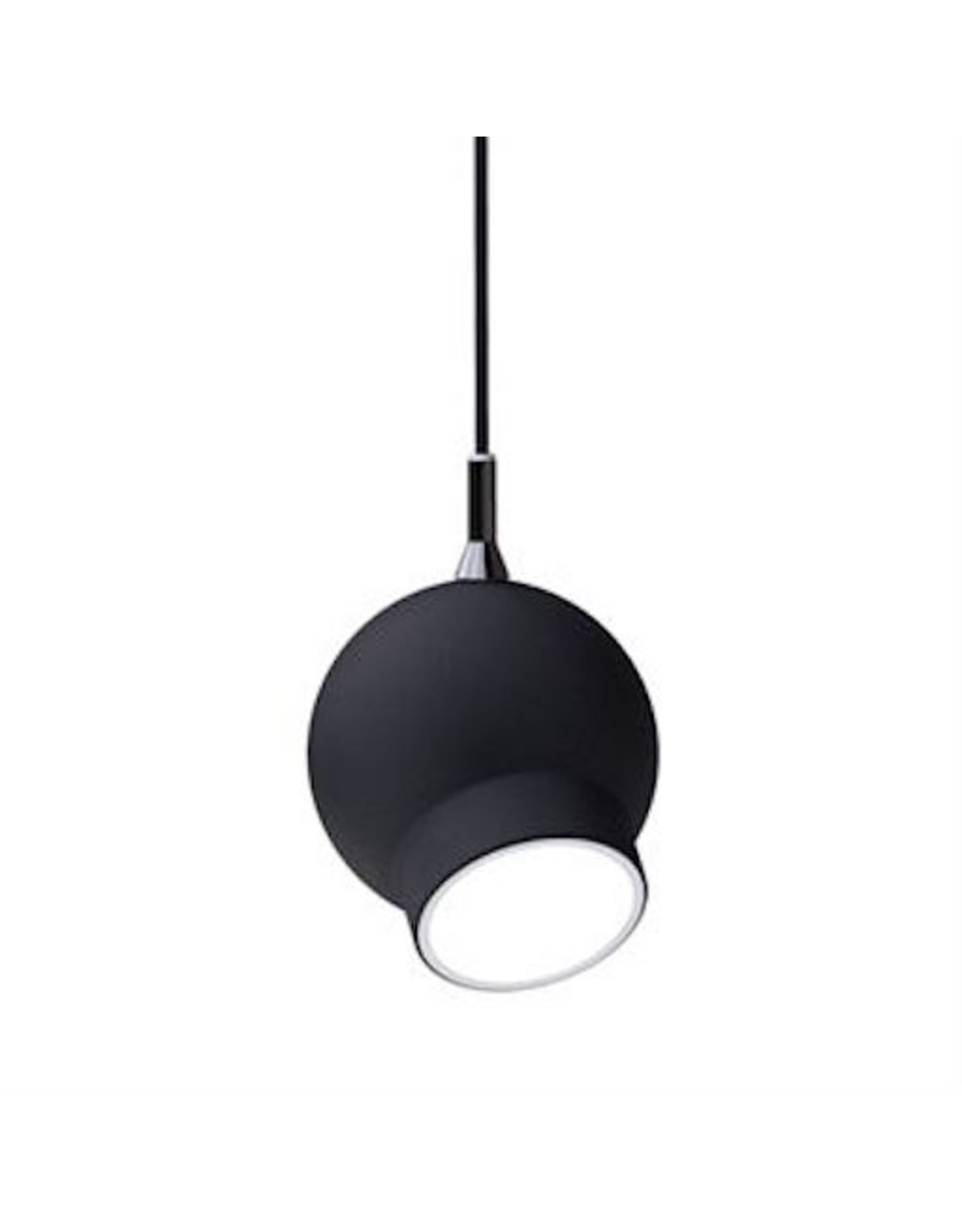 ATELJE LYKTAN OGLE PENDANT LAMP IN BLACK