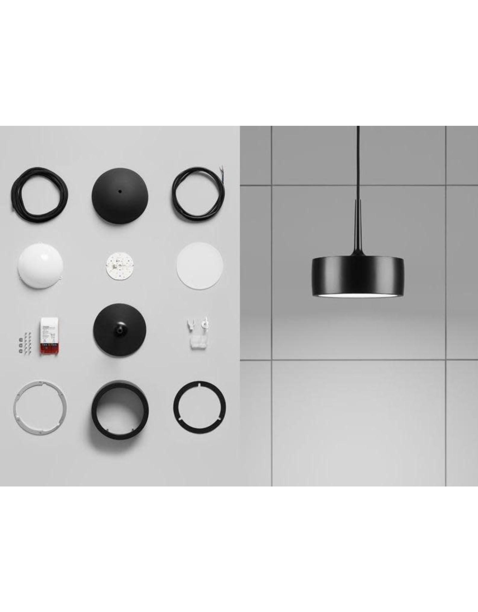 RIFF 150 冰球形狀黑色吊燈