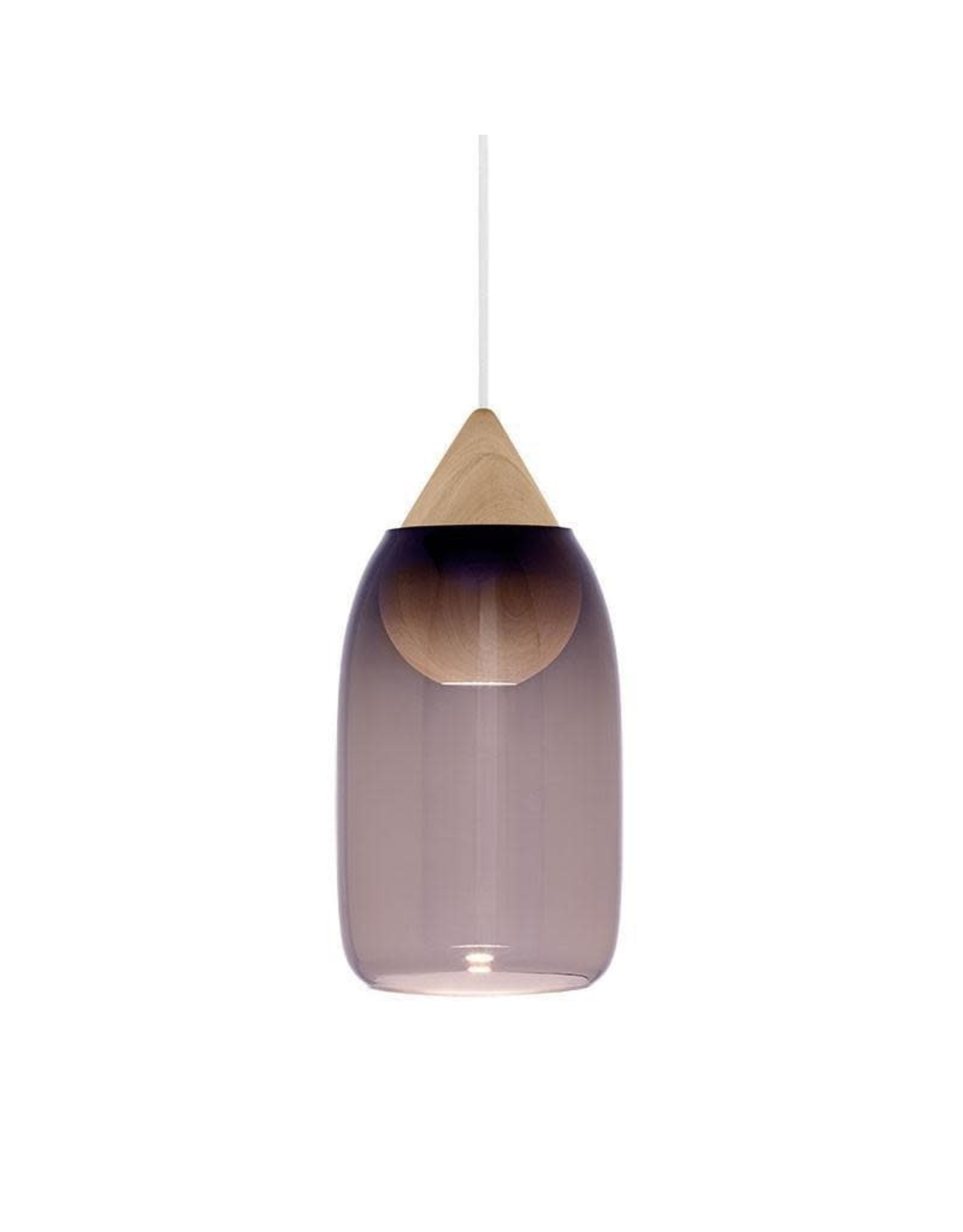 LIUKU 水滴形橡木配燈罩吊燈