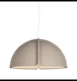 ATELJE LYKTAN HOOD LED PENDANT LAMP IN SAND COLOUR