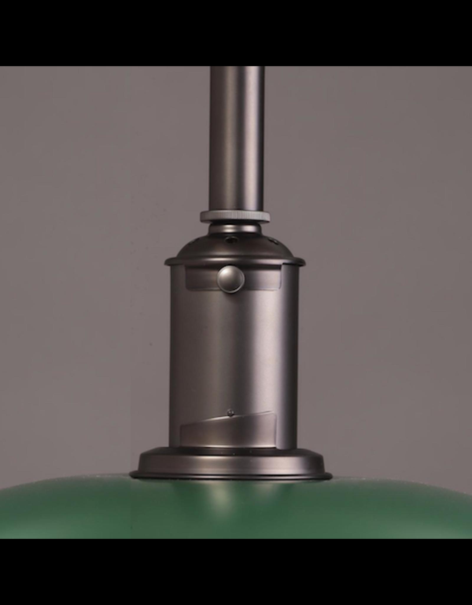 LOUIS POULSEN PH 3 1/2-3 PENDANT LAMP IN GREEN