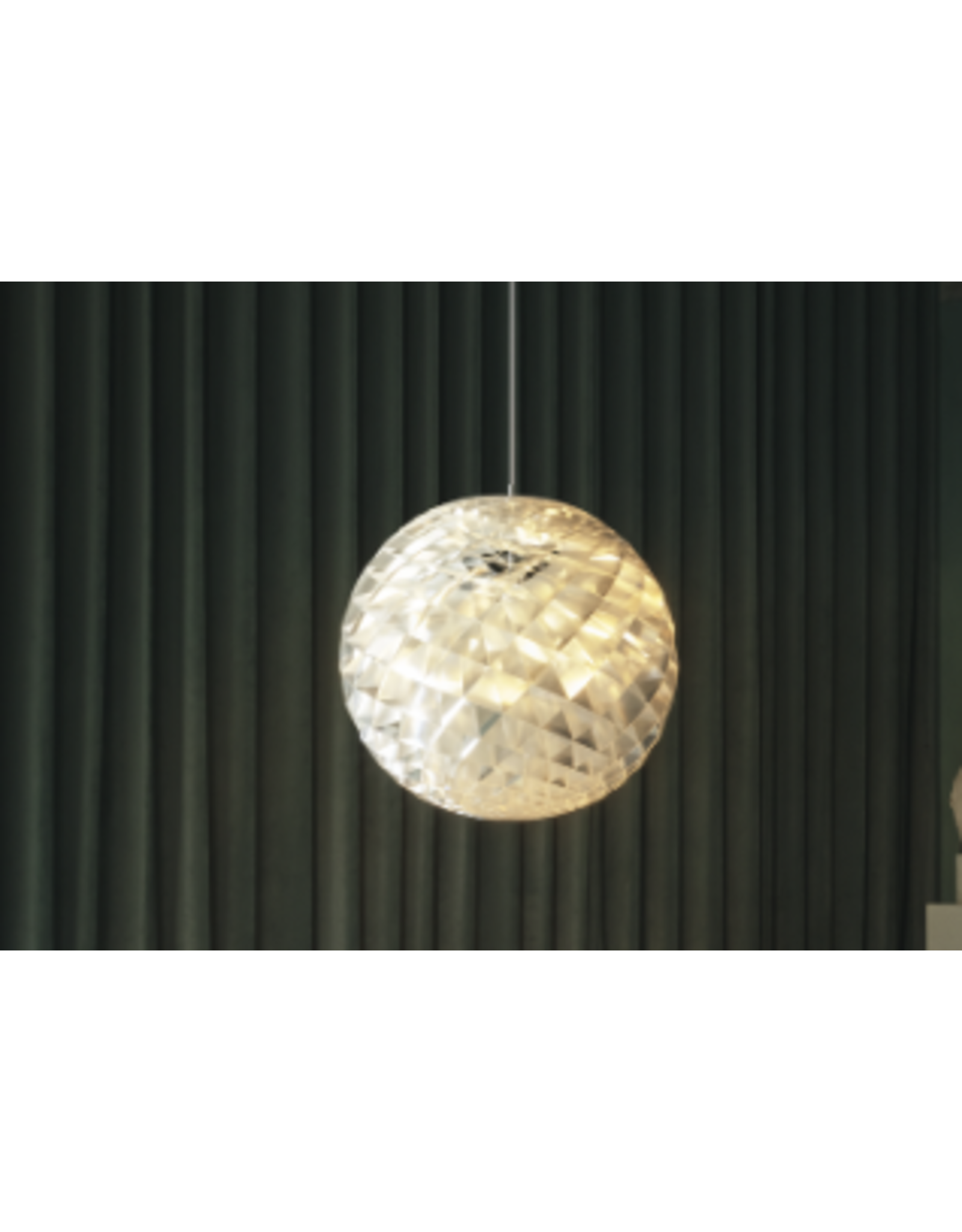 LOUIS POULSEN PATERA PENDANT LAMP IN SILVER