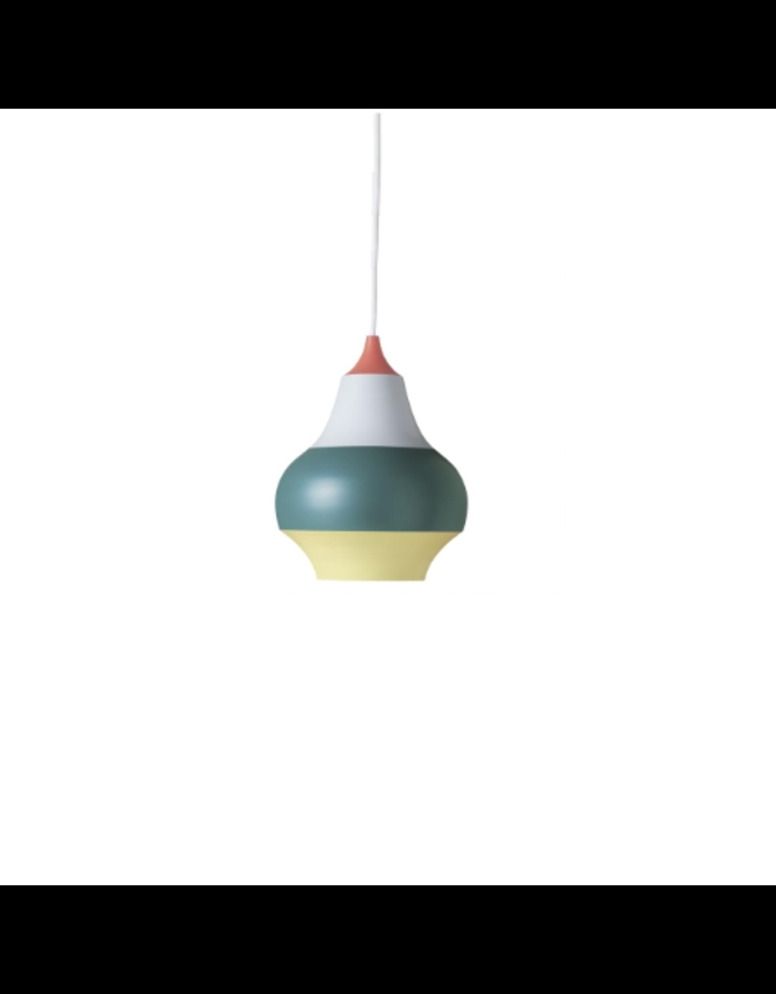 CIRQUE PENDANT LAMP, TOP IN RED