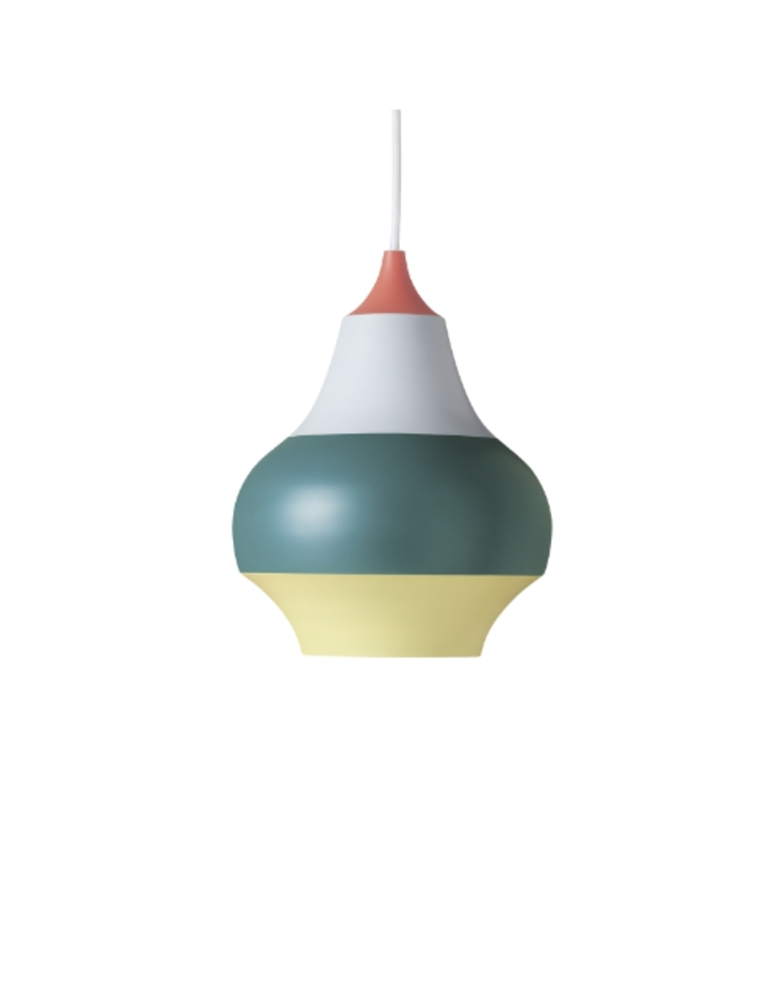 LOUIS POULSEN CIRQUE PENDANT LAMP, TOP IN RED