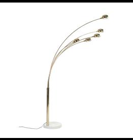 MANKS ANTIQUES 1970's GUSTAV ARC FLOOR LAMP