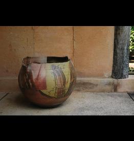 LARGE VASE 叶灰釉大花瓶