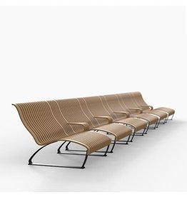 NOVA C NOVA C RECLINER 两座位躺椅