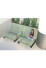 NOVA C RECLINER 两座位躺椅