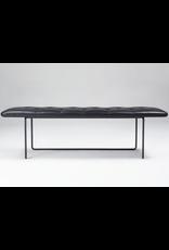 TIPTOE 黑色皮革长凳