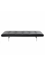 PK80 DAYBED IN DARK BROWN ELEGANCE LEATHER