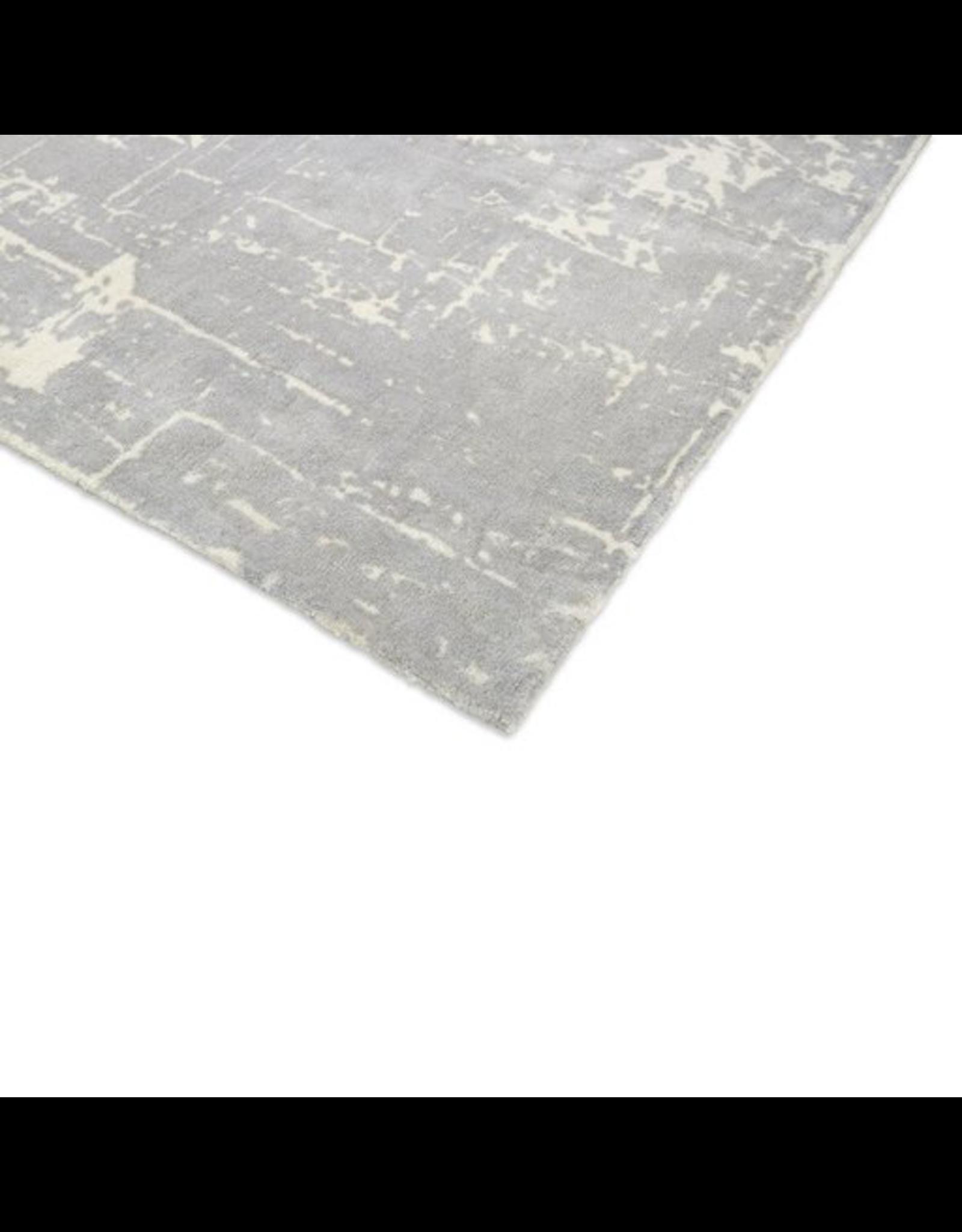 OILFIELD INFO RUG 灰啡色/米色混合的油田资讯地毯