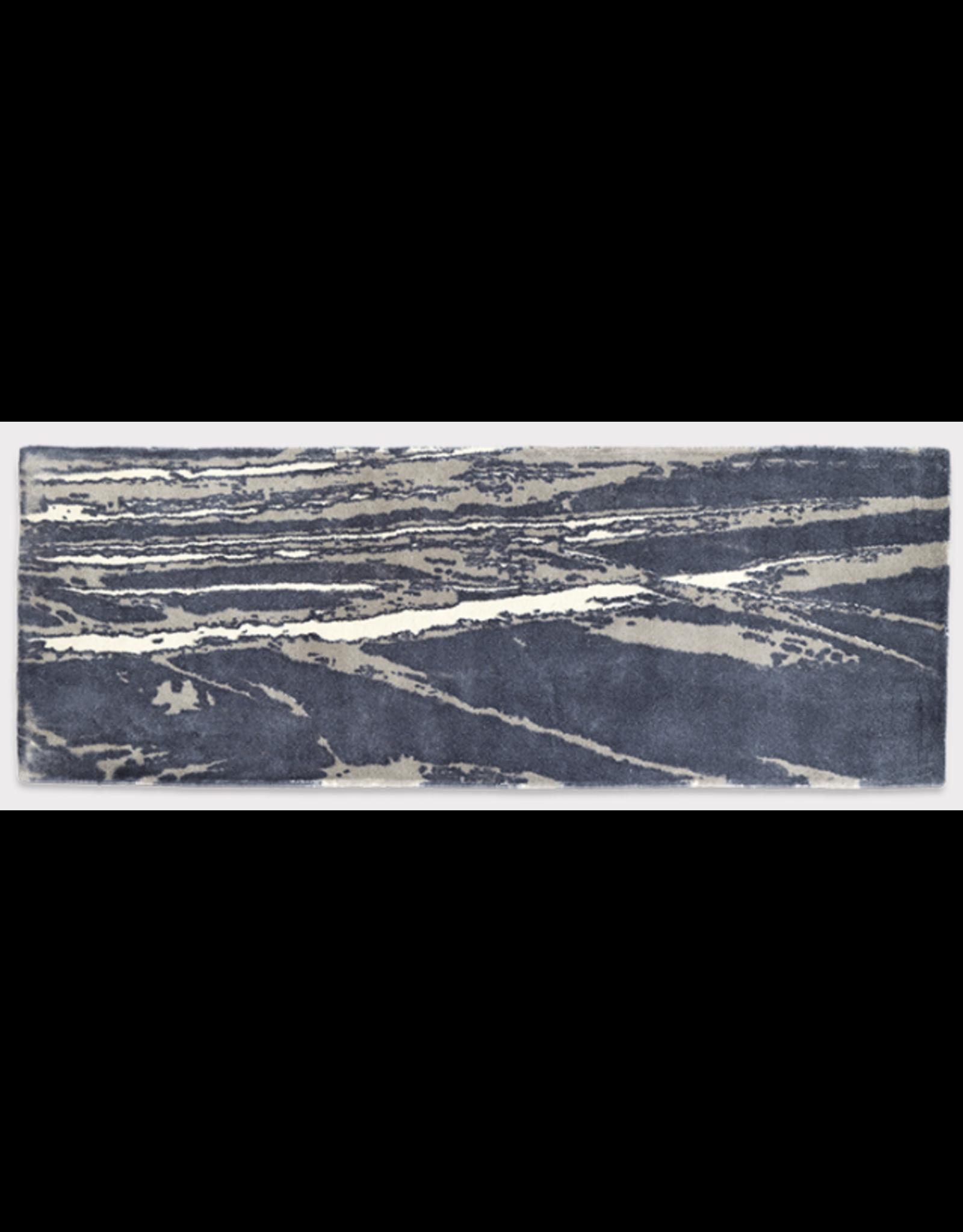 AIR TRAFFIC INFO RUG 深灰色混合地毯