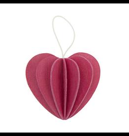 LOVI Lovi粉红色心形装饰