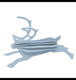 LOVI Lovi灰色驯鹿形状装饰