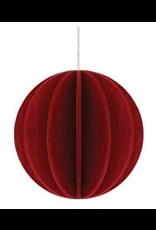 Lovi深红色球状装饰