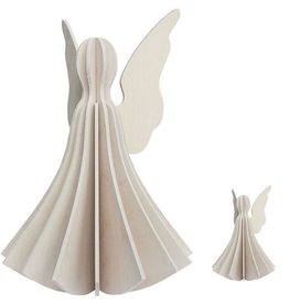 LOVI ANGEL SHAPED ORNAMENT IN WHITE