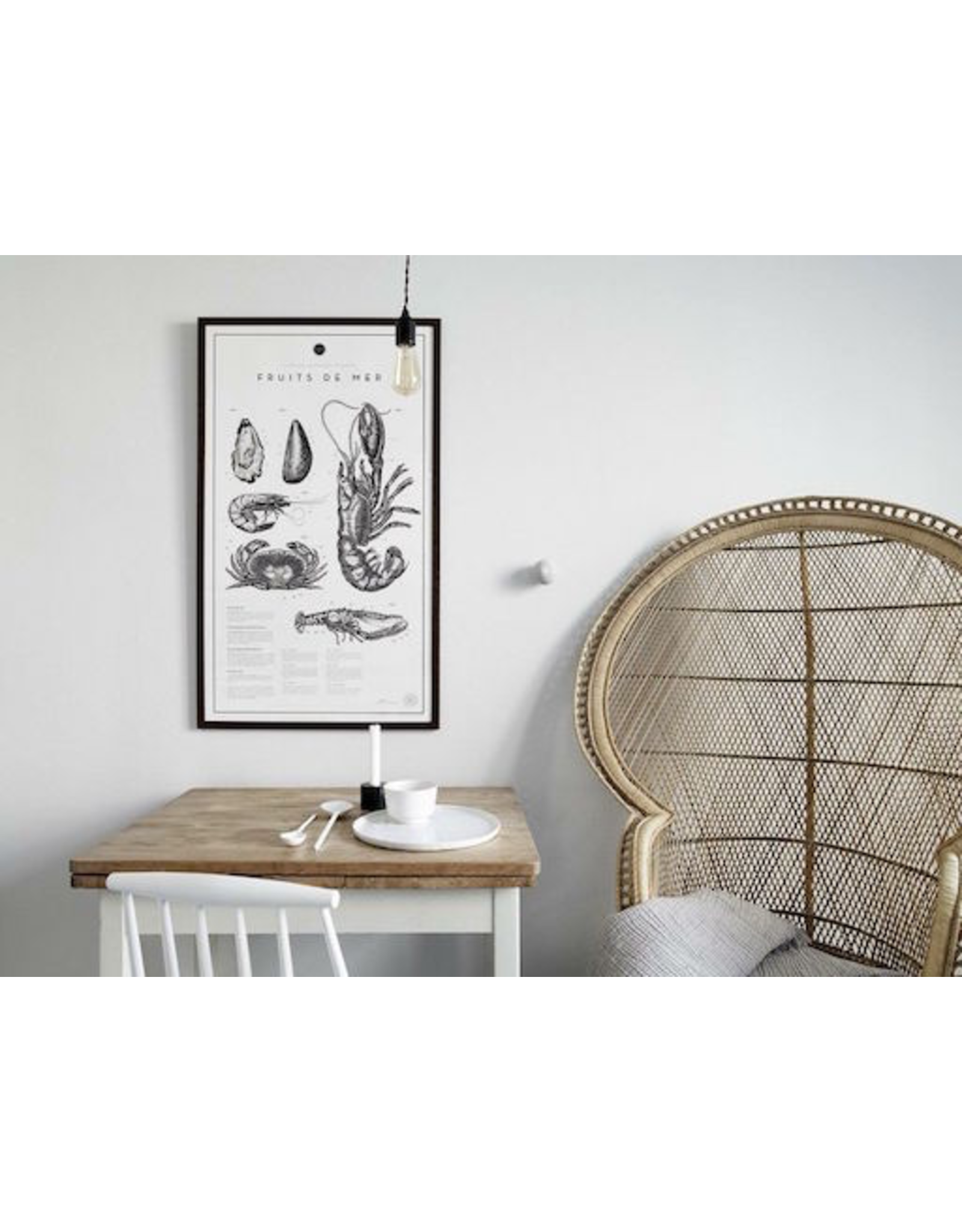 FRUITS DE MER FROM THE SPRING SUMMER COLLECTION 2016, FRAMED