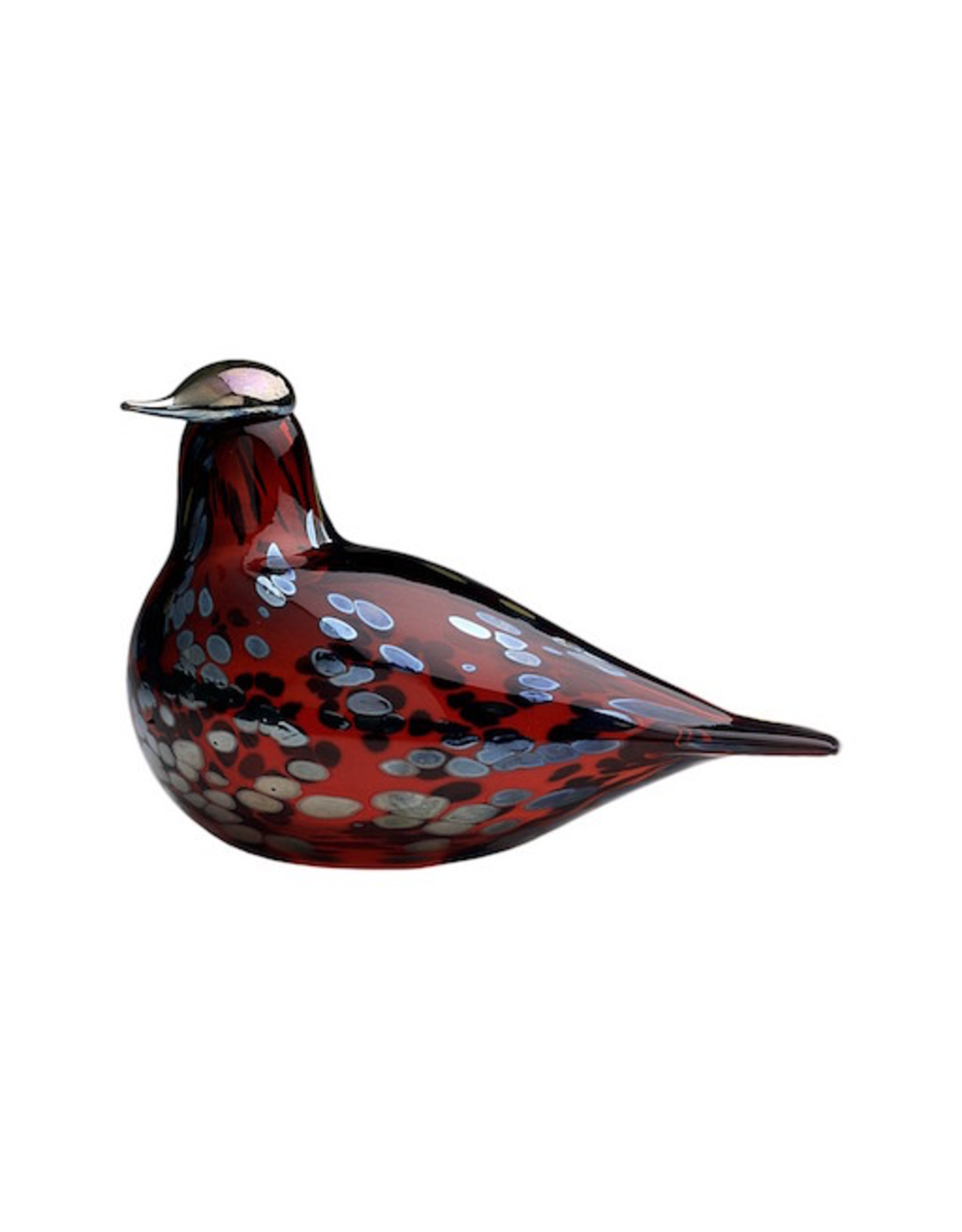 BIRDS BY TOIKKA, RUBY BIRD CRANBERRY