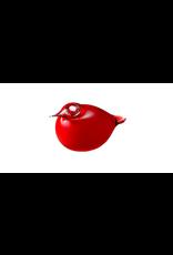 BIRDS BY TOIKKA PUFF BALL RED CRANBERRY