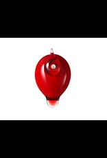 PUFF BALL 莓紅色撲球鳥