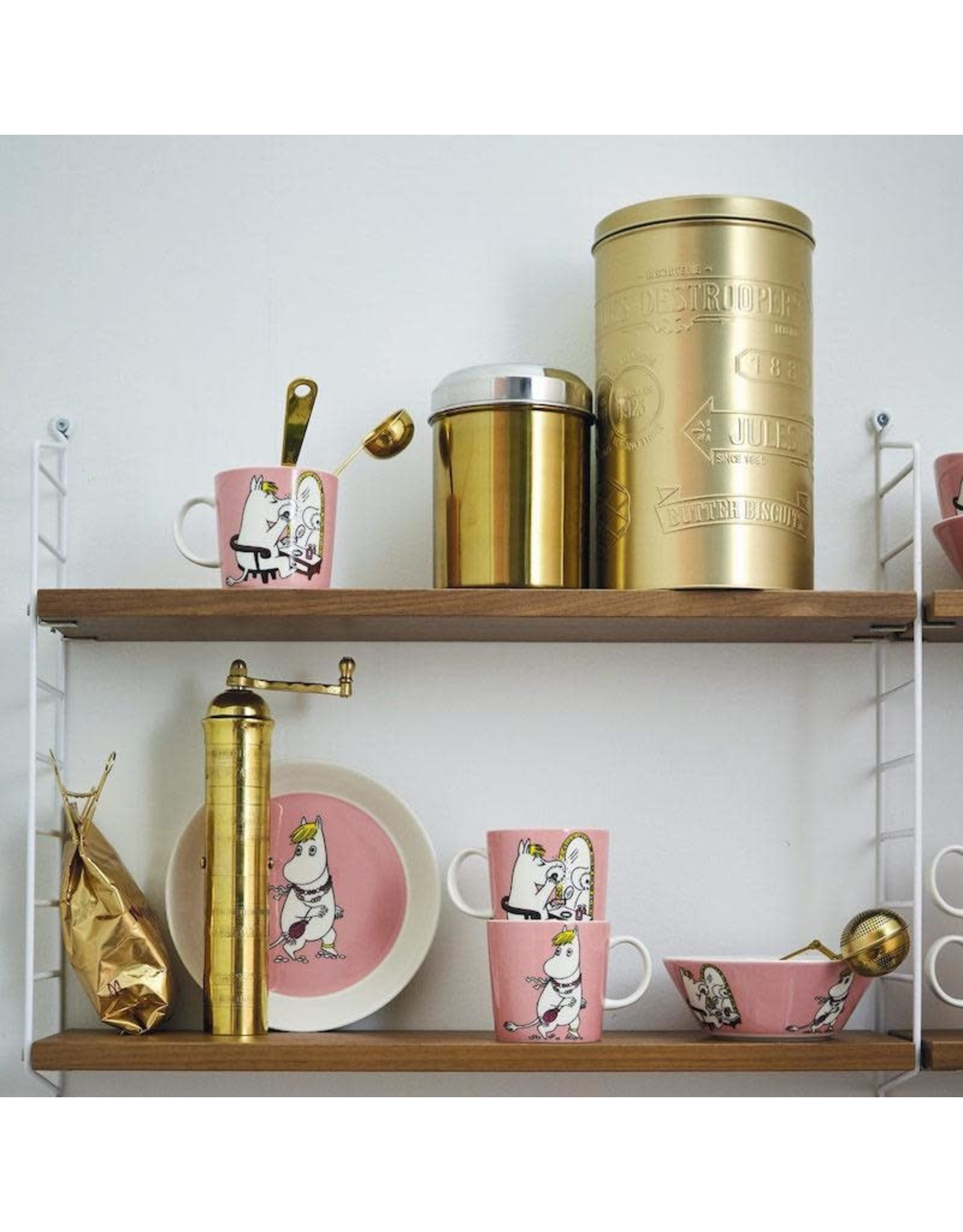 ARABIA MOOMIN 姆明家族歌妮水杯及餐碟套裝