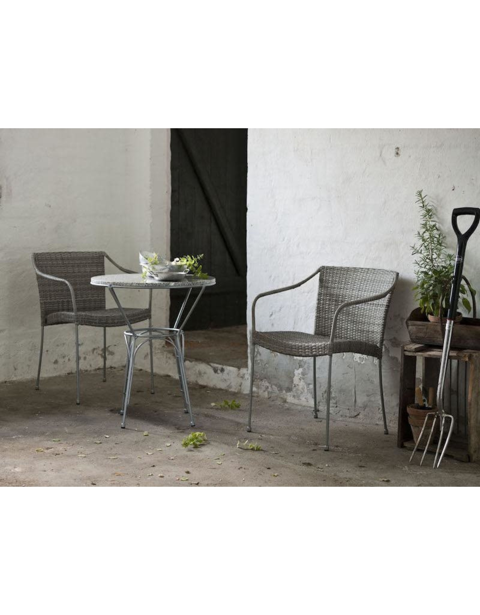 SIKA DESIGN 9160T PLUTO OUTDOOR STACKABLE ARMCHAIR