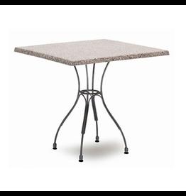 SIKA DESIGN ATLAS TABLE, VERSALITE GREY SQUARE TOP