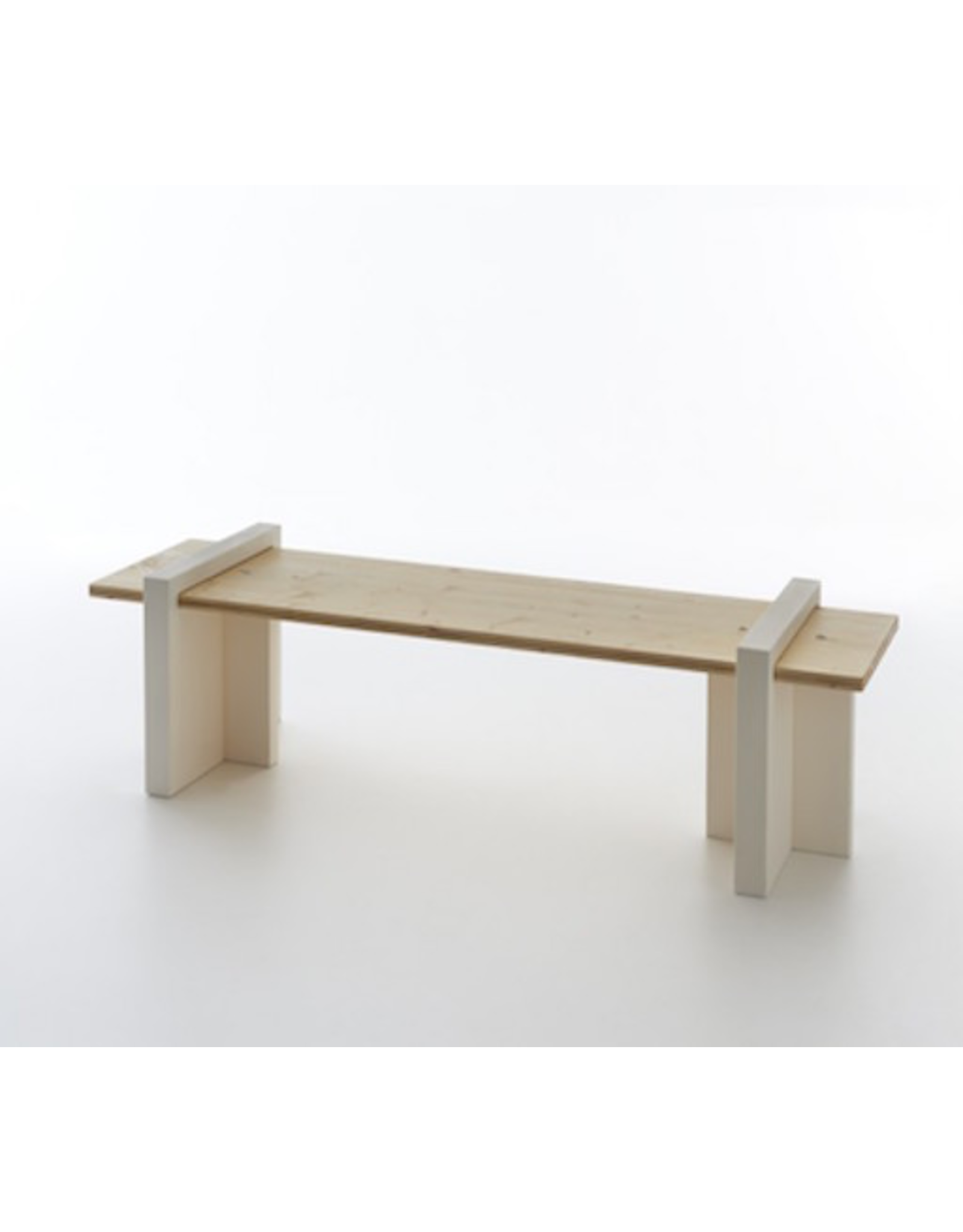 SERRALUNGA PLAY WOOD BENCH, FIR WOOD AXIS TREATED FOR OUTDOOR