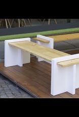 PLAY WOOD 户外用长凳, 枞木轴处理