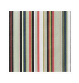 Origo 綠色条纹餐紙巾 33厘米