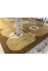 MANKS ANTIQUES IMPORTANT 1950's HANDWEAVED RUG