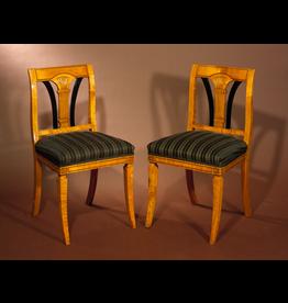 HALL CHAIRS 比德迈式大厅椅子一对