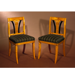 MANKS ANTIQUES HALL CHAIRS 比德迈式大厅椅子一对