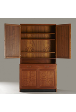 YNGVE EKSTROM & STIG LINDBERG 柚木古董櫥櫃
