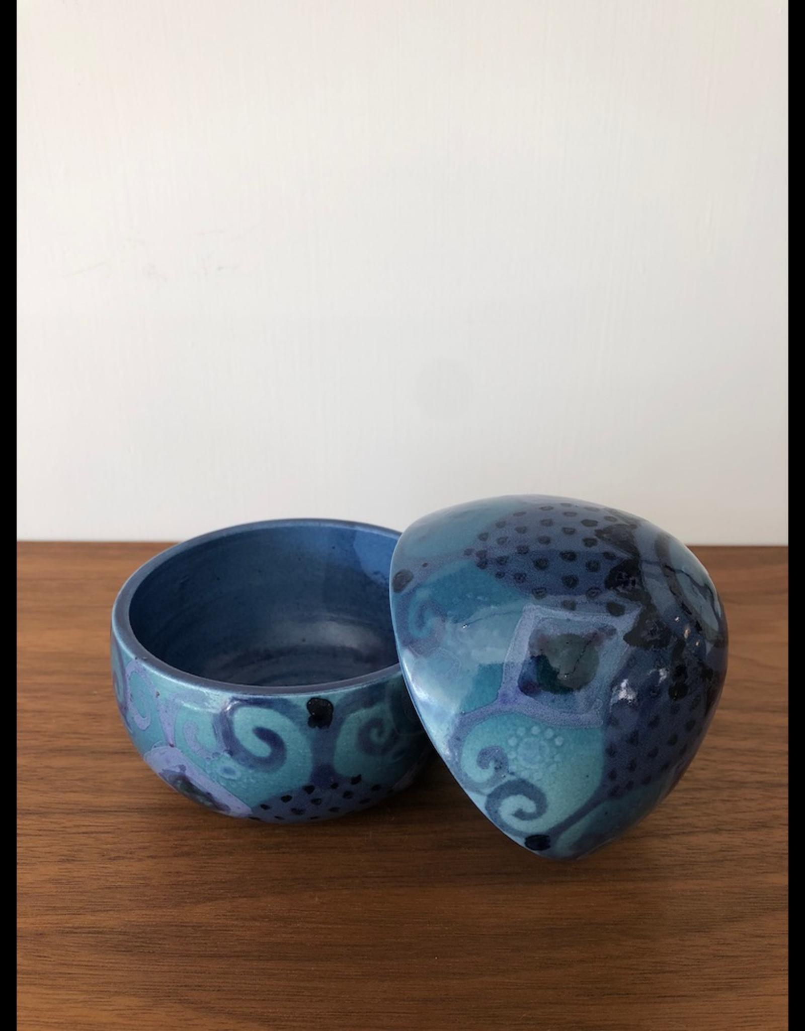 1960's 蛋形有蓋陶瓷