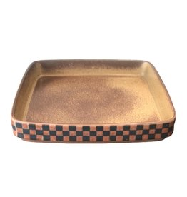 MANKS ANTIQUES 1960's 格子石製器皿
