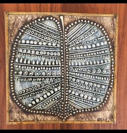 WALL PLAQUE 叶陶瓷浮雕掛墙板