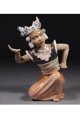 MANKS ANTIQUES BALINESE DANCER FIGURE 巴里舞者人像
